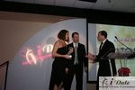 Match.com receiving Best Dating Site Award in Miami at the 2010 Internet Dating Industry Awards