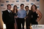 Match.com Executives with 2 Awards (Best Dating Site and Best Dating Site Design) in Miami at the 2010 Internet Dating Industry Awards