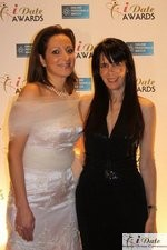 Ravit Ableman and Julie Spira at the 2010 iDate Awards