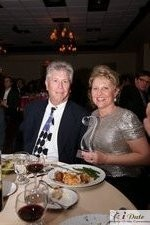 Mr. and Mrs. Ferman with the Best Matchmaker Award at the 2010 Miami iDate Awards