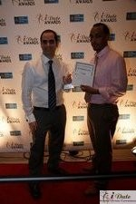 Friendfinder Executives with Best Affiliate Program Award at the 2010 iDate Awards Ceremony