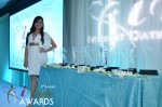 The Awards and Andrea Ocampo at the January 24, 2012 Internet Dating Industry Awards Ceremony in Miami