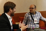 Networking  at the September 10-11, 2012 Germany European Online and Mobile Dating Industry Conference