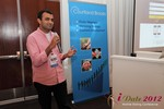 Dwipal Desai (CEO of TheIceBreak.com) at the June 20-22, 2012 Mobile Dating Industry Conference in California