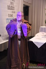 Jonathan Crutchley (Chairman at Manhunt) is actually Obi Wan Kenobi! at iDate2012 Beverly Hills
