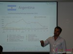 Dave Heysen CEO of Oasis and Amor En Linea  at the 36th iDate2013 Brasil
