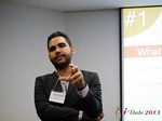 Marco Tulio Kehdi COO of Raccoon Marketing Digital speaking on Brazil Search  at the November 21-22, 2013 South American and LATAM Dating Business Conference in Brasil