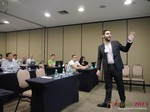 Marco Tulio Kehdi COO of Raccoon Marketing Digital speaking on Brazil Search  at the 36th iDate South American & LATAM Dating Business Trade Show
