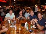 Netwokring Party of Brazil dating exectuives  at the 36th iDate Dating South America Industry Conference in Brasil