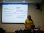 Verena Stukart CEO of Mundipagg speaking on Brazilian Online Payments  at iDate2013 Brasil