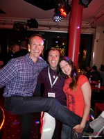 Networking Party at the 2013 E.U. Online Dating Industry Conference in Cologne