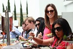 Lunch at the 34th Mobile Dating Industry Conference in Beverly Hills