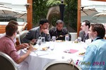 Lunch at the 34th iDate2013 Beverly Hills