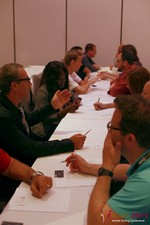 Speed Networking at the June 5-7, 2013 Los Angeles Internet and Mobile Dating Business Conference