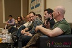 Sam Moorcroft (CEO of Christian Cafe) at the Final Panel at the 2013 Internet Dating Super Conference in Las Vegas