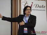Francesco Nuzzolo, France Manager for Dating Factory  at the September 7-9, 2014 Mobile and Internet Dating Industry Conference in Germany