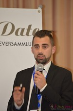Matthew Banas, CEO of NetDatingAssistant  at the September 7-9, 2014 Mobile and Online Dating Industry Conference in Köln
