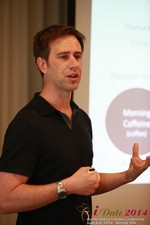 Author Neal Cabage Of The Smarter Startup at the 2014 Internet and Mobile Dating Business Conference in Beverly Hills