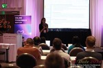 Rosalie Sutherland, Director Of Mobile Marketing at AnastasiaDate Discussing Mobile Dating Conversions  at iDate2014 Los Angeles