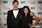 Arthur Malov & Damona Hoffman  at the 2014 Internet Dating Industry Awards Ceremony in Las Vegas