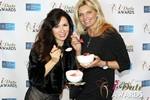 Marcella Romaya & Sheri Grande (Gluten Free Desert @ iDate) at the 2014 Internet Dating Industry Awards Ceremony in Las Vegas