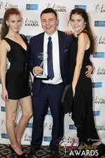 Maciej Koper of World Dating Company (Winner of Best New Technology) in Las Vegas at the January 15, 2014 Internet Dating Industry Awards