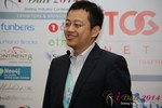 CFO of Jiayuan at iDate at the January 14-16, 2014 Las Vegas Online Dating Industry Super Conference