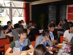Lunch at the 41st iDate2015 Beijing convention