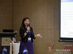 Violet Lim - CEO of Lunch Actually at the 2015 Beijing Far East Mobile and Internet Dating Expo and Convention