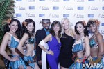Renee Piane and Kristina Lynn in Las Vegas at the January 15, 2015 Internet Dating Industry Awards