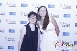 Irena Stepanova and Elena Kolyasnikova at the 2015 Las Vegas iDate Awards