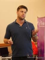 Ben Lambert CEO Clocked Io Speaking At CEO Therapy at the 2015 London U.K. & E.U. Mobile and Internet Dating Expo and Convention