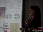 Irina Matulkova at the iDate Premium International Dating Business Executive Convention and Trade Show