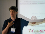 Marat Nigametzianov at the 49th iDate Premium International Dating Business Trade Show