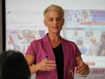 Olga Korsakova at the iDate P.I.D. Business Executive Convention and Trade Show